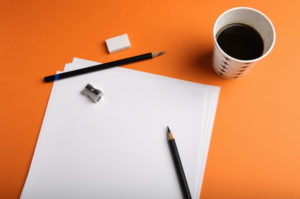 Blank Paper & Cup of Coffee - iStock