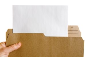 File Folder with Paper - DG iStock