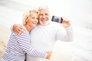 Older Couple Taking A Photo
