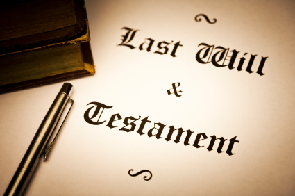 Last will and testament document - iStock
