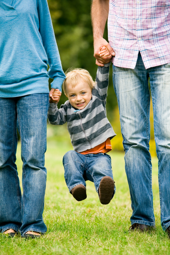 Parents and Kid - iStock