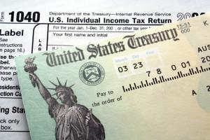 Tax return check - iStock